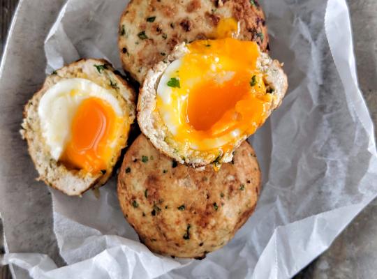 Chicken Scotch Eggs